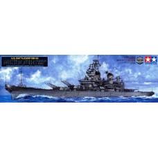 Tamiya 1/350 Американский линкор USS «Missouri» BB-63 (Новая модель, год выпуска 2012). № 78029