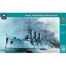 """Ark Models 1/400 Российский бронепалубный крейсер """"Аврора"""". № 40001"""
