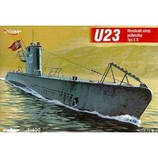 Mirage Hobby 1/400 Немецкая подводная лодка U-23 (Type IIB). № 40024