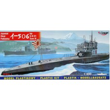 Mirage Hobby 1/400 Подводная лодка I-506 Type U-IXD1 Turm IV, Императорского флота Японии. № MIH_40046