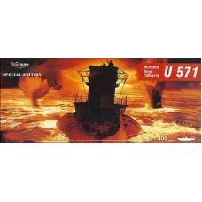 Mirage Hobby 1/400 Немецкая подводная лодка U-571. № 40049