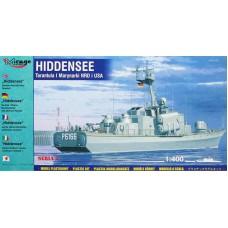 Mirage Hobby 1/400 Ракетный корвет «Hiddensee», I-класса Tarantul ВМФ Германии (ВМФ США). № 40232