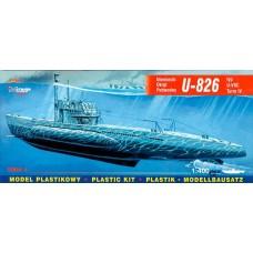 Mirage Hobby 1/400 Немецкая подводная лодка U-826 Type VIIC Turm IV. № MIH_40413