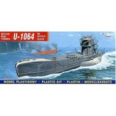 Mirage Hobby 1:400 Немецкая подводная лодка U-1064 Type VIIC/41 T4. № 40415