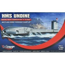 Mirage Hobby 1/400 Британская подводная лодка HMS «Undine» (N48). № 404209