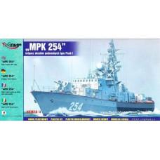 Mirage Hobby 1/400 Советский пограничный малый противолодочный корабль МПК-254 (Pauk I). № 40424