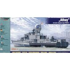 """Mirage Hobby 1/400 Индийский корвет """"Athay"""" Type Pauk II. № 40427"""