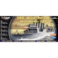 "Mirage Hobby 1/400 Эсминец USS ""Ward"" DD-139 (Pearl Harbor 1941). № 40601"