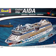 "Revell 1/400 Круизный Корабль ""AIDA"" (AIDAdiva, AIDAbella, AIDAluna). № 05200"
