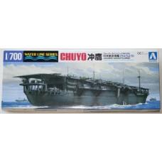 "Aoshima 1/700 Японский авианосец ""Chuyo"". № 01489 (WL208)"