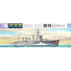 "Aoshima 1/700 Японский лёгкий крейсер ""Naka"", 1933. № 040157"