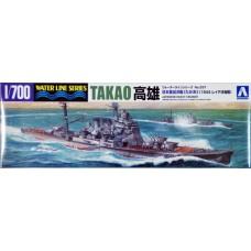 Aoshima 1/700 Японский тяжелый крейсер «Takao» ('Battle of Leyte Gulf 1944'). № 045367