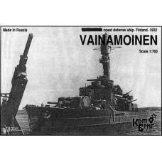 Combrig Models 1/700 Броненосец береговой обороны «Vainamoinen» ВМС Финляндии (1932 год). № 70298