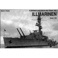 Combrig Models 1/700 Броненосец береговой обороны «IImarinen» ВМС Финляндии (1933 год). № COM_70299
