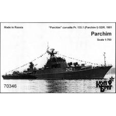 Combrig Models 1/700 Малый противолодочный корабль проекта 133.1 «Parchim» ВМС ГДР (1981 год). № 70346