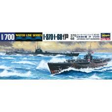 Hasegawa 1:700 Японские подводные лодки I-370, I-68. № WLS432