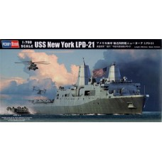 Hobby Boss 1/700 Американский универсальный десантный корабль USS New York (LHD-21). № HOB_83415