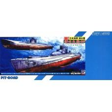 Pit-Road 1/700 Подводные лодки I-9 и Ro-35 Японского Императорского флота. № PRD_SPW23