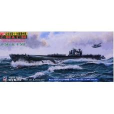 Pit-Road 1/700 Подводные лодки I-56 и I-58 Японского Императорского флота Type I-54. № PRD_W122