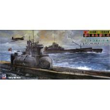 Pit-Road 1/700 Подводные лодки I-13 и I-14 Японского Императорского флота, Modified A Type 2. № PRD_W41