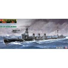 Pit-Road 1/700 Лёгкий торпедный крейсер «Kitakami» Японского Императорского флота. № PRD_W47