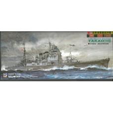 """Pit-Road 1/700 Тяжёлый крейсер """"Takao"""" Mod.1942 Японского Императорского флота. № PRD_W54"""