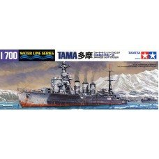 Tamiya 1/700 Лёгкий крейсер Японского Императорского флота «Tama» (Waterline Series WL317). № TAM_31317