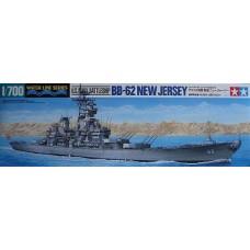 Tamiya 1:700 Американский линкор USS New Jersey BB-62. № 31614