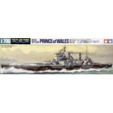 Tamiya 1/700 Британский линкор HMS Prince of Wales. № 31615