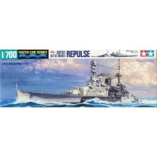 Tamiya 1/700 Британский линейный крейсер HMS Repulse. № 31617