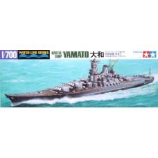 Tamiya 1/700 Линкор Японского Императорского флота «Yamato». № 31113