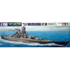 Tamiya 1/700 Линейный корабль японского Императорского флота «Musashi». № TAM_31114