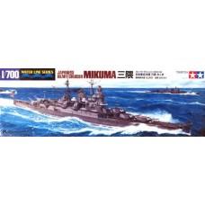 Tamiya 1/700 Тяжёлый крейсер Японского Императорского флота «Mikuma». № 31342
