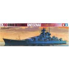 Tamiya 1/700 Немецкий линейный крейсер «Gneisenau». № 77520