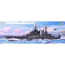 Trumpeter 1/700 Американский линкор BB-46 «Maryland». № TRU_05769