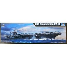 Trumpeter 1/700 Американский авианосец USS Constellation (CV-64). № 06715
