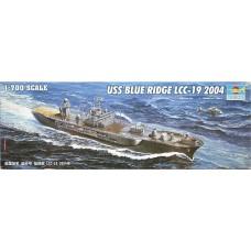 Trumpeter 1/700 Американский флагманский корабль LCC-19 «Blue Ridge». № TRU_05717