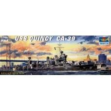 Trumpeter 1/700 Американский тяжелый крейсер USS «Quincy» CA-71. № 05748