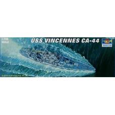 Trumpeter 1/700 Американский тяжелый крейсер USS «Vincennes» CA-44. № 05749
