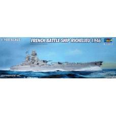 Trumpeter 1/700 Французский линейный корабль «Richelieu», 1946 год. № 05751