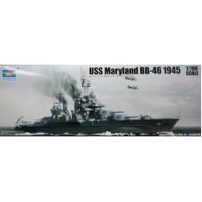 Trumpeter 1/700 Американский линкор BB-46 «Maryland», 1945 год. № 05770