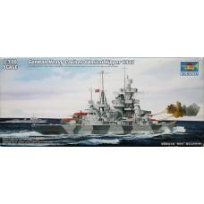 Trumpeter 1/700 Немецкий крейсер «Admiral Hipper» 1941 год. № TRU_05776