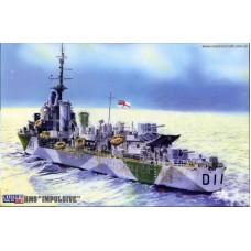 """Master Craft 1/500 Эскадренный миноносец HMS """"Impulsive"""" (1937). № MCR_S-96"""