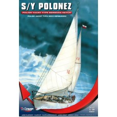 "Mirage Hobby 1/50 Польская Яхта S/Y ""Polonez"", type Bermuda Ketch. № 508001"