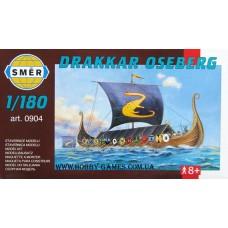 Smer 1/180 Осебергская ладья викингов «Drakkar». № 0904