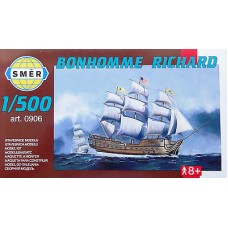 Smer 1/500 Американский парусный корабль «Bonhomme Richard», 1765. № SME_0906