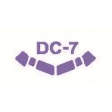 KV Models 1/144 Маска-трафарет для самолёта DC-6/DC-7/VC-118 (Roden). № 14310