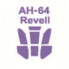 KV Models 1/144 Маска-трафарет для вертолёта AH-64 Apache (Revell). № 14525