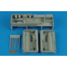 Aires 1/32 Су-25 Frogfoot A, wheel bay (ниши шасси). № 2153
