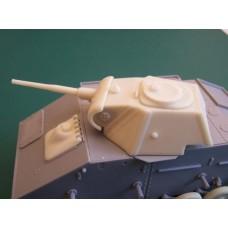 Комплект ЗиП 1/35 Конверсионный набор: Башня Т-70м (поздняя) (для Miniart). № ZiP35007